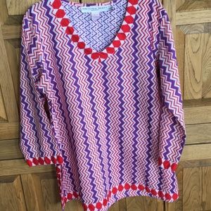 Gretchen Scott Designs Tunic- size L